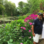 At Monet's Water Lily Pond
