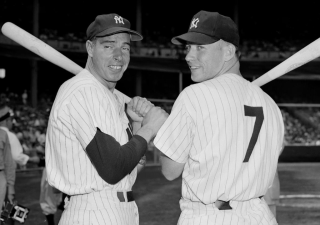 Joe-dimaggio-mickey-mantle